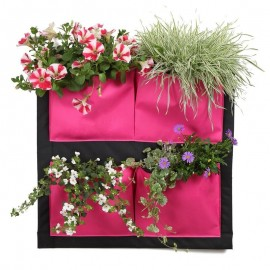 Plante Murale a Accrocher, Mur Vegetal Rose