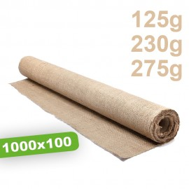 Toile de Paillage Naturel Compostable 10m