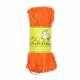 Raphia Orange 50g