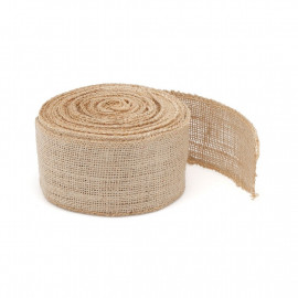 Bande de jute naturel